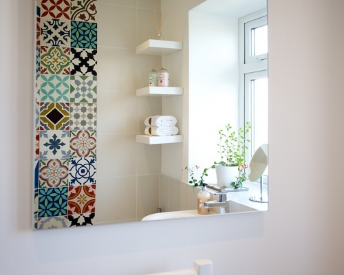 Encaustic Patchwork Tiles from Morocco