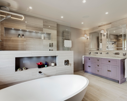 Master Wetroom with Walk-through Dressing Room in Chuck Hatch, East Sussex