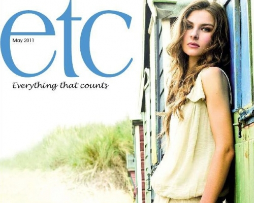 ETC Homes and Gardens magazine cover