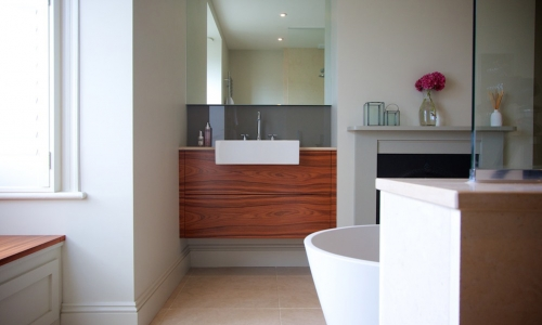 Image: Luxurious Family Bathroom with Bespoke Joinery