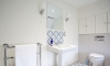 Traditional family bathroom in a Grade II listed cottage —Lindfield