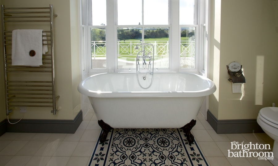 French / Victorian Inspired Bathrooms U2014Mulberry House, Upper Beeding ...