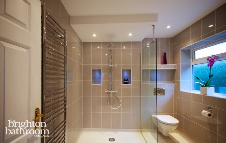 Disabled bathrooms the brighton bathroom company for Disabled wet room bathroom design