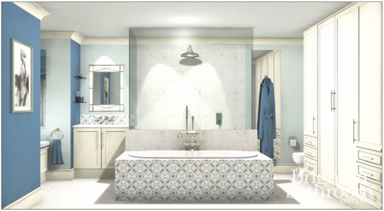 Bathroom design and installation london the brighton for Bathroom design companies london