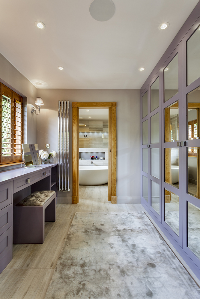 Stunning Master Wetroom With Walk Through Dressing Room Chuck Hatch