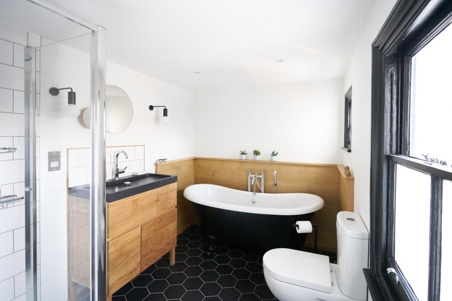 scandi style bathroom design