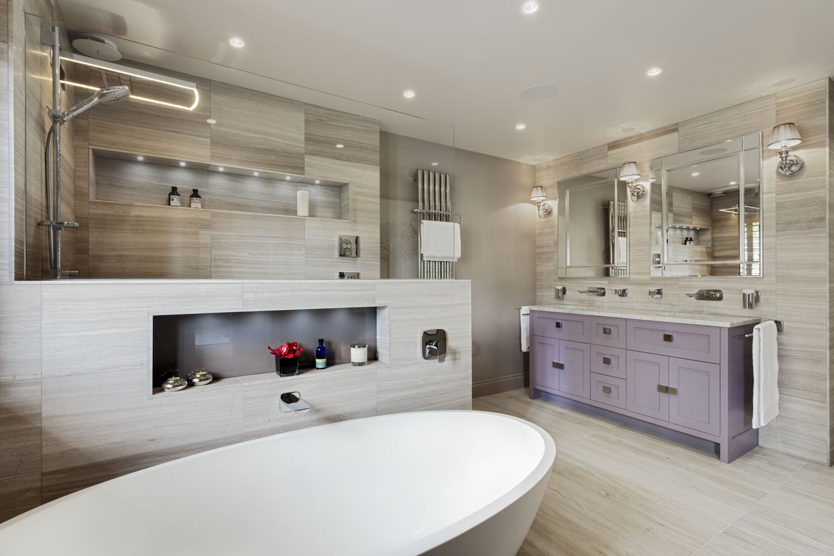The brighton bathroom company luxury bathroom design in for Small bathroom design 2m x 2m